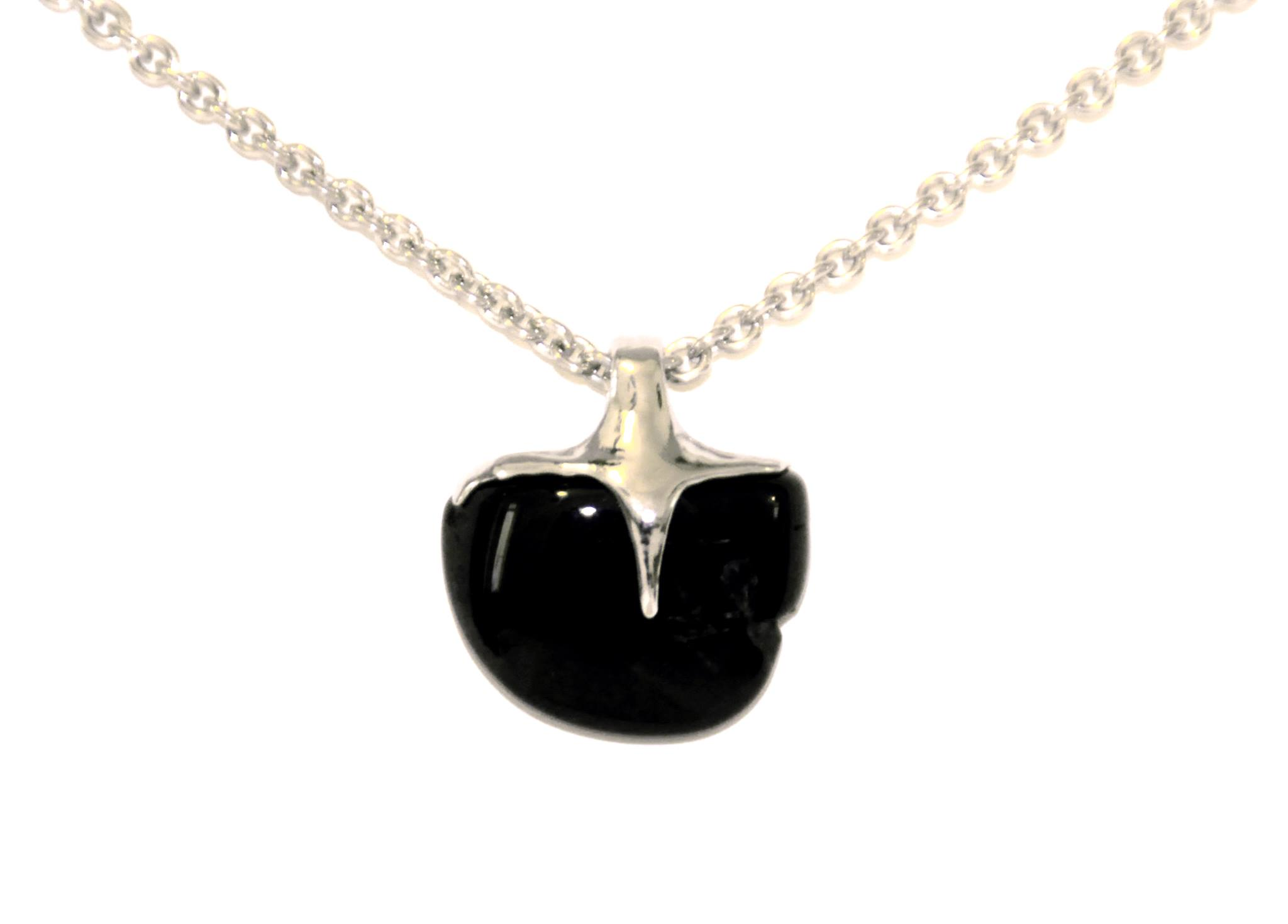 black apple (onyx, silver, stainless steel)